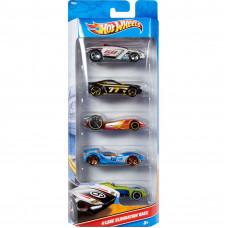 Hot Wheels 01806 5 Cars Pack
