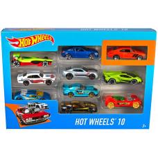 Hot Wheels 54886 10 Cars Pack