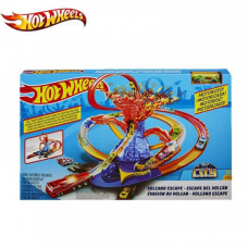 Share Save Hot Wheels FTD61 City Volcano Escape Play Set