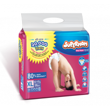 Supermom Diaper Belt 12-17 Kg 20 Pcs (Buy Two Get One Free)