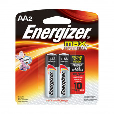 Energizer Max 1.5V AA Battery 2 Pcs