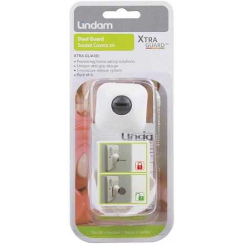 Lindam Dual Guard Socket Covers