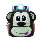 Cool Kid Toddler Mini School Bags: Monkey