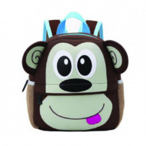 Cool Kid Toddler Mini School Bags: Monkey