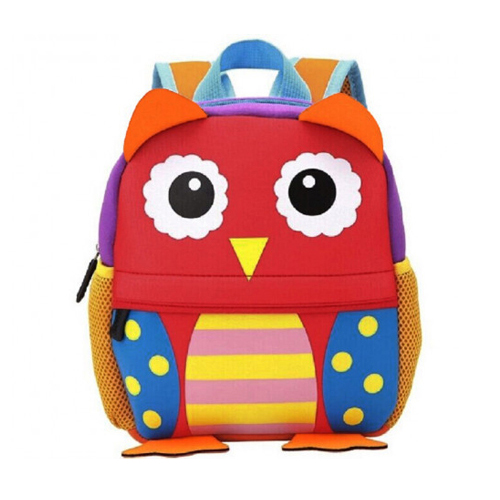 Cool Kid Toddler Mini School Bags: Owl