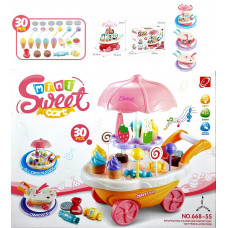 Kids Play Set Mini Sweet Cart Ice Cream Car