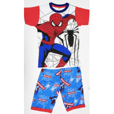Boy's T-Shirt With Pant Spiderman - Red