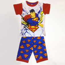 Boy's T-Shirt With Pant Superman - Red