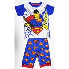 Boy's T-Shirt With Pant Superman - Blue