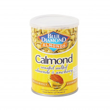 Blue Diamond Calmond Roasted Salted Almonds With Anchovies 110gm