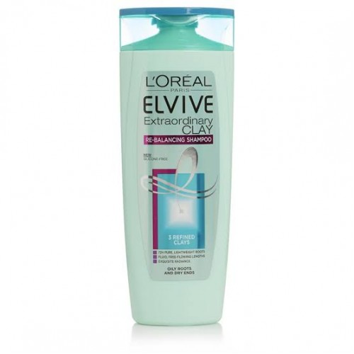 L'Oreal Elvive Clay Oily Roots Shampoo 300 mL