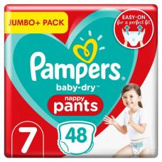Pampers Baby Size 7 Pant 17+kg- 48 Pcs (UK)