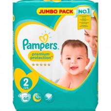 Pampers Diapers Mini Size 2 Belt 4-8kg- 68 pcs (UK)