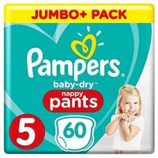 Pampers Baby Size 5 Pant 12-17kg 60 pcs (UK)