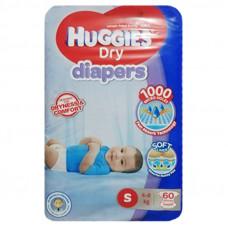 Huggies Small Belt Diaper 4-8Kg - 60 Pcs (Malaysia)