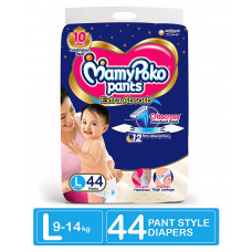 MamyPoko Pants Large 9-14 Kg 44 Pcs (Made in India)