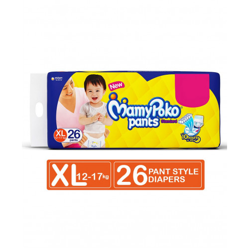 MamyPoko Pants XL 12-17 Kg 26 Pcs (Made in India)