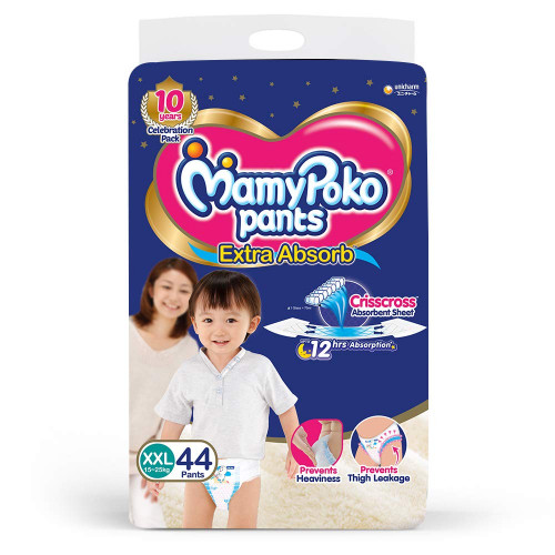 MamyPoko Pants XXL 15-25 Kg 44 Pcs (Made in India)
