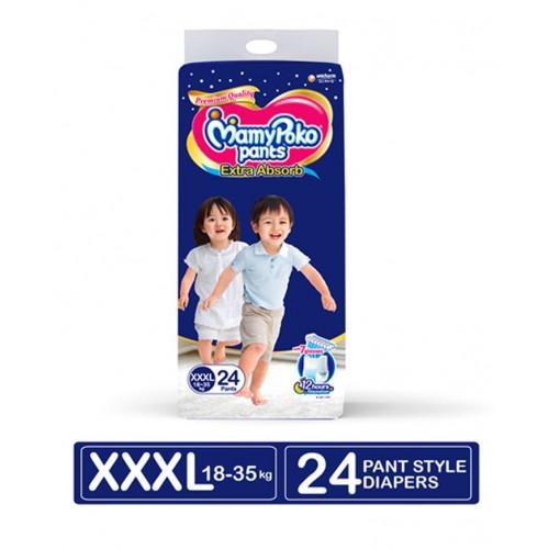 MamyPoko Pants XXXL 18-35 Kg 24 Pcs (Made in India)