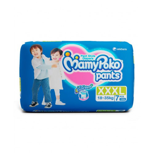 MamyPoko Pants XXXL 18-35 Kg 7 Pcs (Made in India)