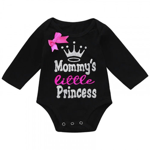 Baby Girl Long Sleeve Bodysuit Mommy's Little Princess