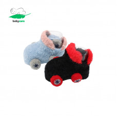 Soft Cartoon Car Baby Socks