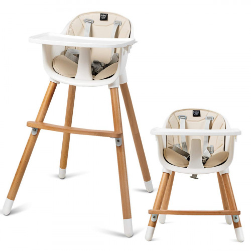 COSTWAY Convertible High Chair