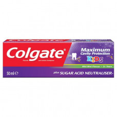 Colgate Maximum Cavity Protection 3+ Kids Toothpaste 50 mL