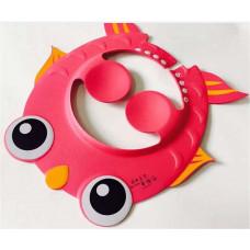 Baby Adjust Bath Protect Soft Shower Cap - Pink