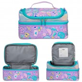 Smiggle Hits Double Decker Lunch Box: Lilac