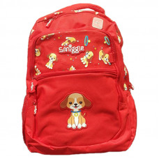 Smiggle Lucky Backpack: Red