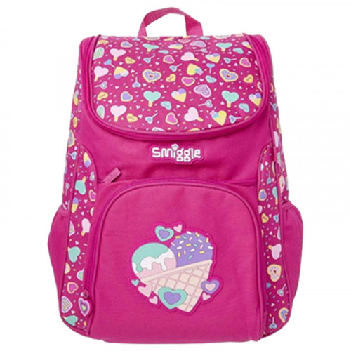 Smiggle Woah Access Backpack Pink