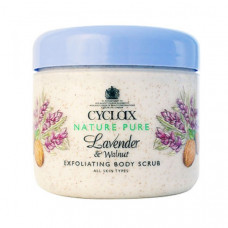 Cyclax Natura Pure Lavender & Walnut Exfoliating Body Scrub 300 mL