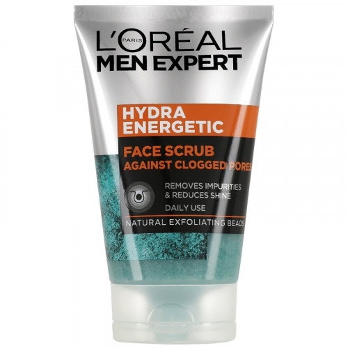 L'Oreal Men Expert Hydra Energetic Deep Exfoliating Face Scrub 100 ml