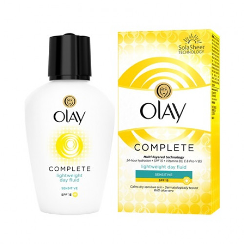 Olay Complete Lightweight Day Fluid Sensitive SPF 15 100 mL