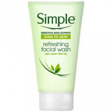 Simple Refreshing Facial Gel Wash 150 mL