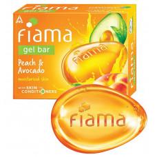 Fiama Peach & Avocado Bar Soap 125 gm