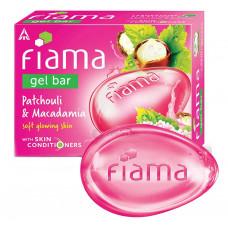 Fiama Patchouli & Macadamia Gel Bar Soap 125 gm