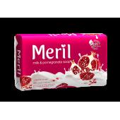 Meril Milk & Pomegranate Soap Bar 100gm