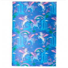 Smiggle Far Away A6 Exercise Book Cornflower Blue