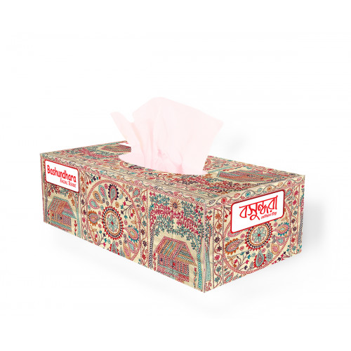 Bashundhara Facial Tissue Box 120 x 2 Ply